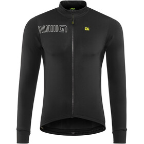 Alé Cycling Solid Color Block Fietsshirt lange mouwen Heren zwart